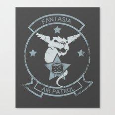 Fantasia Air Patrol Canvas Print