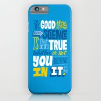 iPhone & iPod Case featuring The Good Thing About Science by Chris Piascik