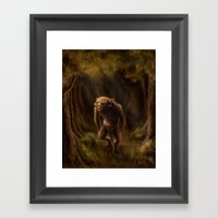 Pequenino & the Father Trees Framed Art Print