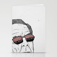 x-ray vision Stationery Cards