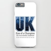 iPhone & iPod Case featuring Eyes of a Champion by Chuck's ArtBox