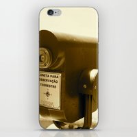 Spyglass to land observation iPhone & iPod Skin