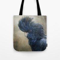 Black Cockatoo no 1 Tote Bag