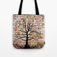 Graffiti Tree Tote Bag