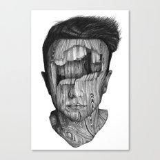 Wood Kid Canvas Print