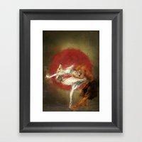 Kitsune Ballet Framed Art Print