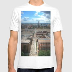 London Mens Fitted Tee White SMALL