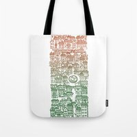 Autumn city Tote Bag