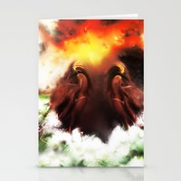 Ion Bombardment Mirrored… Stationery Cards