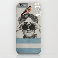 she wants to see the world iPhone 6 Slim Case