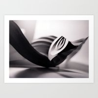 Paper Sculpture #1 Art Print