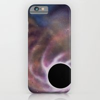 iPhone Cases featuring Black Hole by rschuttltd