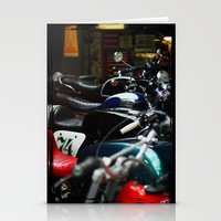 Motorcycles Stationery Cards