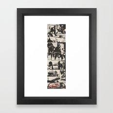 Georges Kaplan Presents... Comic  Framed Art Print