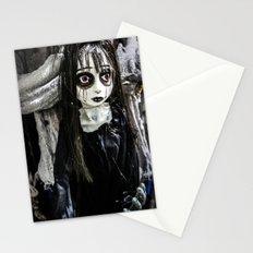 Goth Girl Stationery Cards