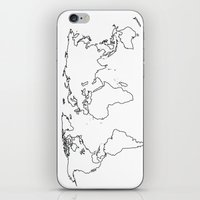 WORLD II iPhone & iPod Skin