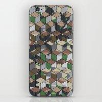 CUBOUFLAGE MULTI (MEDIUM… iPhone & iPod Skin