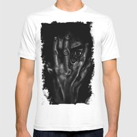 Inner Workings Of The Mi… Mens Fitted Tee White SMALL