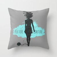 Kulture Couture Throw Pillow