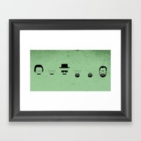 Waltz Framed Art Print