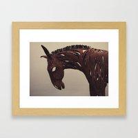 dead horse Framed Art Print