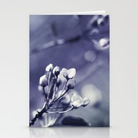 Spring In Black And Whit… Stationery Cards