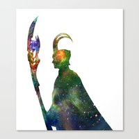 Star Loki Canvas Print