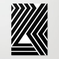 Canvas Print featuring WILD STRIPES by RK // DESIGN