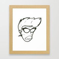Sam. Framed Art Print