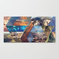 Triangles. Canvas Print
