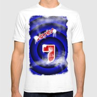 Se7en Mens Fitted Tee White SMALL