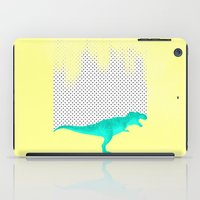 dino got the blues, or not! iPad Case