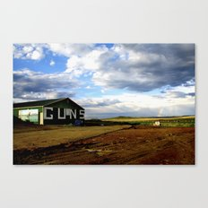 Guns at the End of the Rainbow Canvas Print