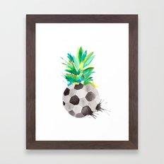 Soccerapple Framed Art Print