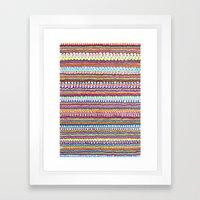 Fusion Color Invasion Framed Art Print