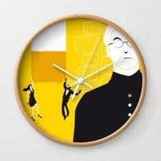 Tmorrow Never Dies Wall Clock