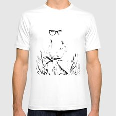 eye wear it White SMALL Mens Fitted Tee