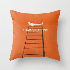 Trainspotting Throw Pillow