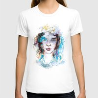 Bride Womens Fitted Tee White SMALL