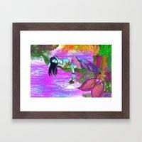 Rusalka. Framed Art Print