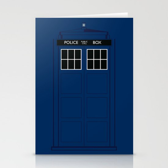 Doctor Who - The Doctor is in.....  Stationery Card