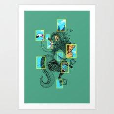 National Animalgraphics Art Print