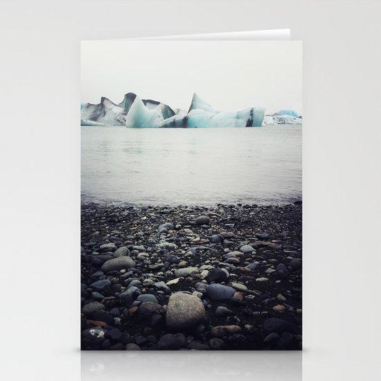 icebergs  Stationery Card