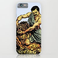 Ron Swanson Slaying A Li… iPhone 6 Slim Case