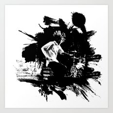 Zack de la Rocha Art Print