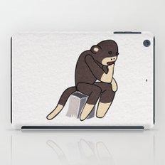 Sock Monkey Thinking iPad Case