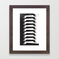 Reach Out Framed Art Print