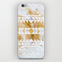 Burnt Gold Tribal iPhone & iPod Skin