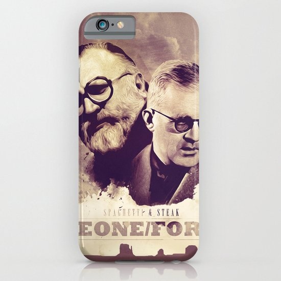 Sergio Leone/John Ford iPhone & iPod Case