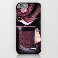 iPhone & iPod Case featuring A bird on the chimney by Rosa Park